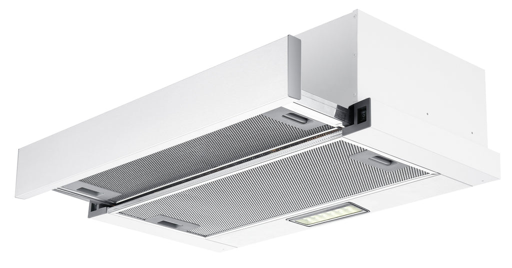 InAlto Slide Out 90cm Rangehood with LED Lights