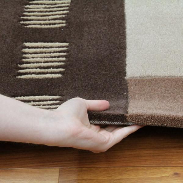Gold Collection 105 Brown Rug