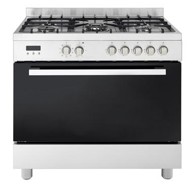 90cm Dual Fuel Freestanding Cooker with Wok Burner