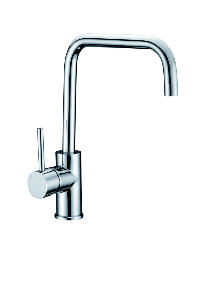 TAPHRS – High Rise Square Neck Mixer - Chrome