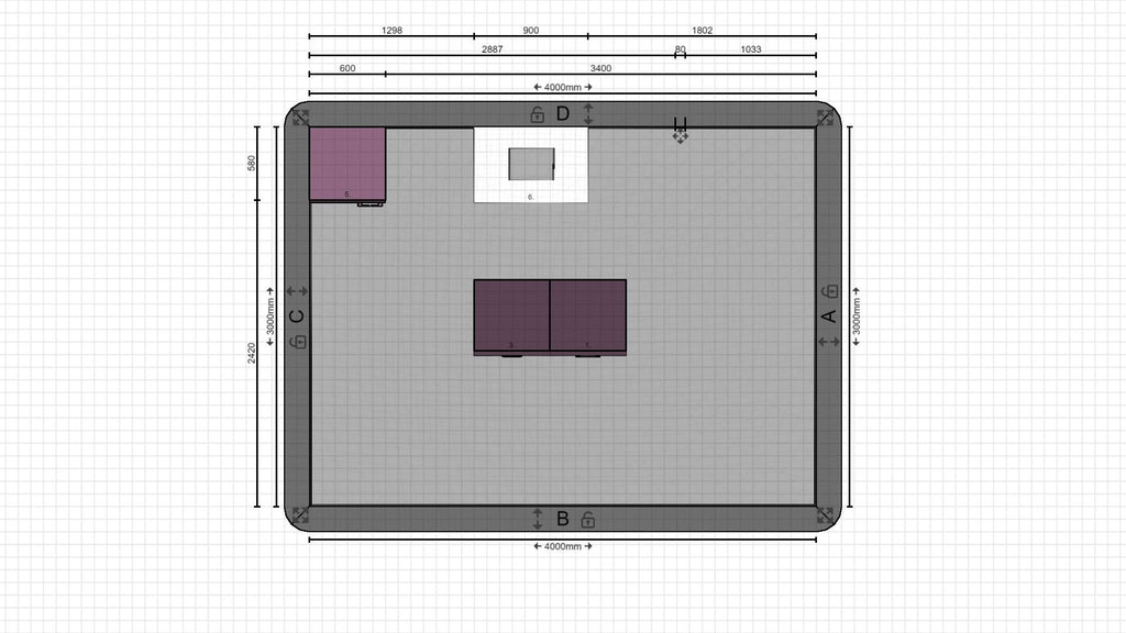 Individual kitchen planning from 02.12.2020, 15:50:21