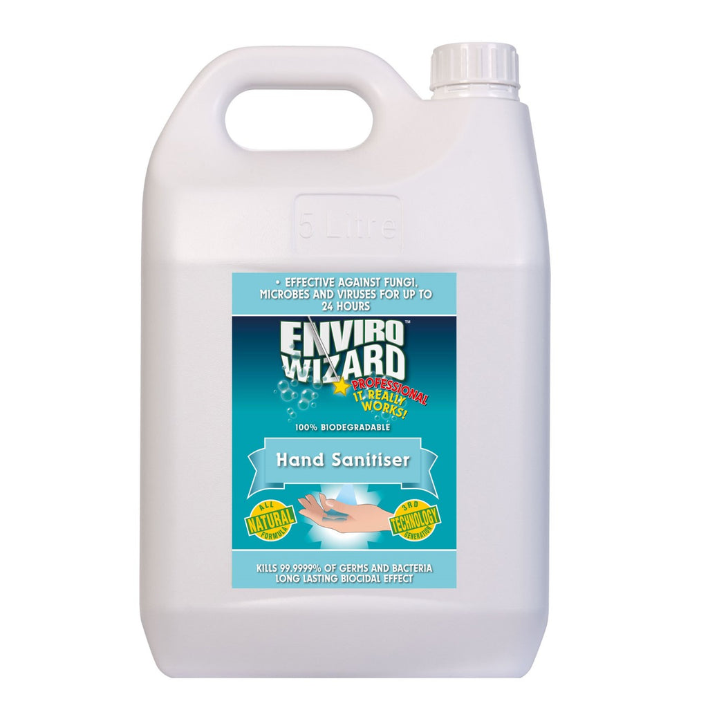 Water & Plant Based Hand Sanitiser - 5l