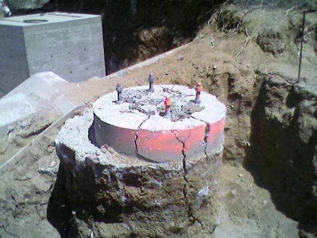 Concrete Demolition of Light Pole Base Removal | Dexpan Project C005