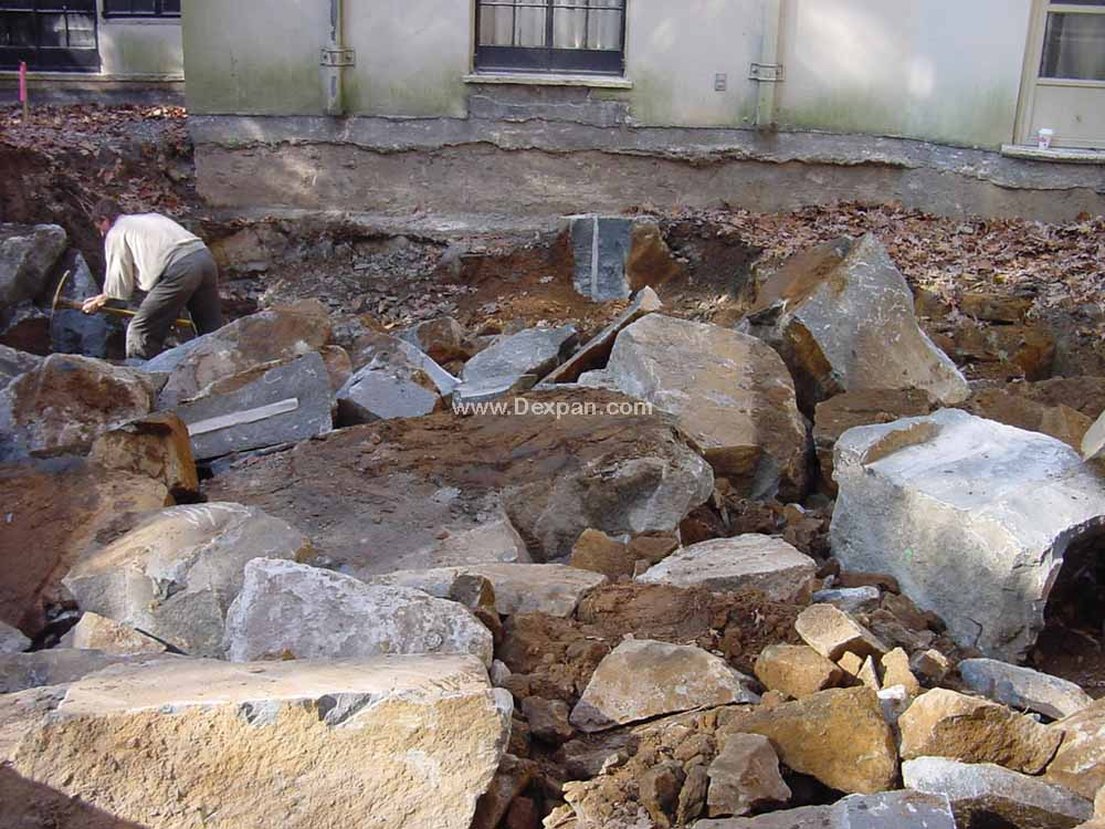 Rock Demolition & Cutting. No Blasting License Needed | Dexpan Project R012