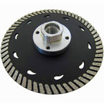 2-in-1 Turbo Blades for Both Stone Cutting and Grinding