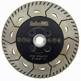 2-in-1 Turbo Blades for Both Stone Cutting and Grinding (1 Size)