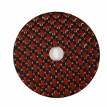 3-Step Diamond Polish Pads 4 in. for Stone Polishing (3 Grits)