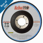 "Abrasive cutting wheels for steel 4-1/2"" x 3/32"" x 7/8"" Depressed (Box of 200)"