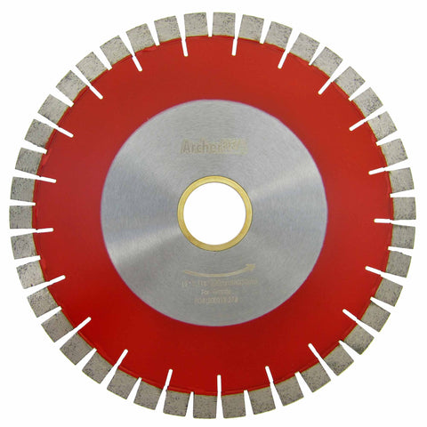 Bridge Saw Diamond Blades V-Seg for Granite Cutting (6 Sizes)