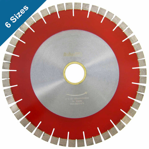 Bridge Saw Diamond Blades V-Seg for Granite Cutting