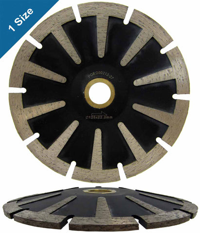 Concave Diamond Blade with T-Seg for Curved Cutting