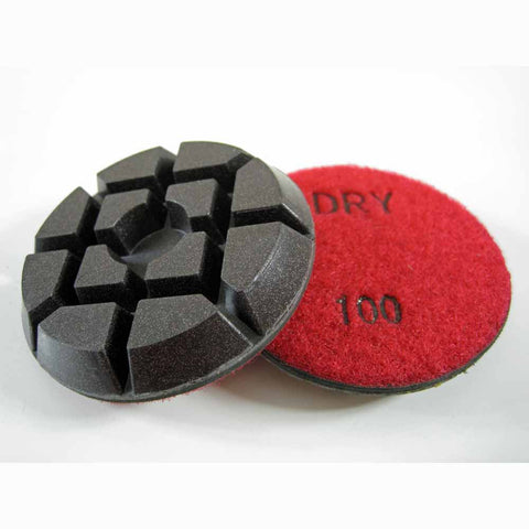 Archer PRO Concrete Polishing Discs for Floor Restoration 100 Grit
