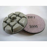 Archer PRO Concrete Polishing Discs for Floor Restoration 3000 Grit