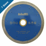 J-Slot Continuous Diamond Blades for Tile Cutting