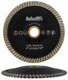 Turbo Contour Diamond Blades for Curved Cutting (4 Sizes)