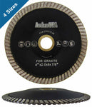 Turbo Contour Diamond Blades for Curved Cutting