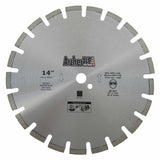 Diamond Saw Blade 14 inch for Fast Asphalt Cutting | Archer USA Pro