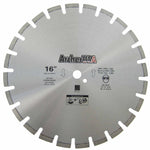 Diamond Saw Blade 16 inch for Fast Asphalt Cutting | Archer USA Pro