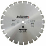 Diamond Saw Blade 18 inch for Fast Asphalt Cutting | Archer USA Pro