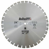 Diamond Saw Blade 24 inch for Fast Asphalt Cutting | Archer USA Pro
