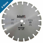 Diamond Saw Blades for Fast Asphalt Cutting (8 Sizes) | Archer USA Pro