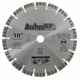 Turbo Diamond Saw Blade 10 inch for Fast Concrete Cutting | Archer USA PRO