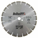 Turbo Diamond Saw Blade 12 inch for Fast Concrete Cutting | Archer USA PRO