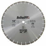 Turbo Diamond Saw Blade 18 inch for Fast Concrete Cutting | Archer USA PRO