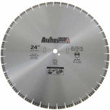 Turbo Diamond Saw Blade 24 inch for Fast Concrete Cutting | Archer USA PRO