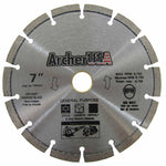 Fast Cutting! Quality General Purpose Diamond Blade 7 inch | Archer USA