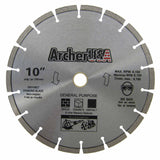 Fast Cutting! Quality General Purpose Diamond Blade 10 inch | Archer USA