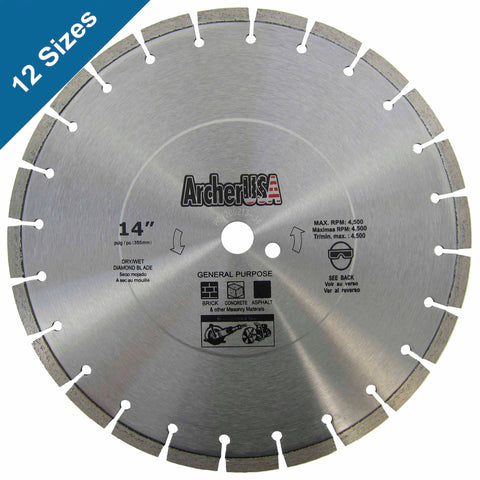 Diamond Blades for General Purpose