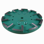 Archer PRO Diamond Concrete Floor Grinding Plate (Angle View)