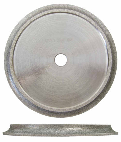Bullnose Tile Blades for Wet Saw, Diamond Profile Wheels (2 Sizes)