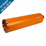 Diamond Turbo Core Drill Bits for Concrete Drilling