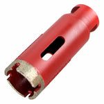 Dry Diamond Core Bits with Side Strips for Stone Drilling (10 Sizes)