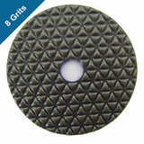 Dry Diamond Polish Pads 4 in. for Stone Polishing