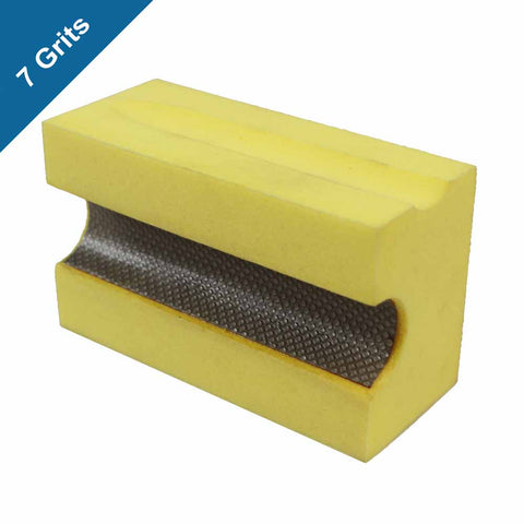 Hand Polish Pads (Full Bullnose 3/4 in.) for Stone and Concrete Polishing