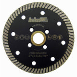 Narrow Turbo Diamond Blades for Granite Cutting (9 Sizes)