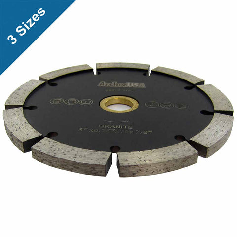 Tuck Point Diamond Blades for Mortar Grooving and Removal (3 Sizes)