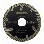 Turbo Blades with Protection Teeth for Stone Cutting (5 Sizes)
