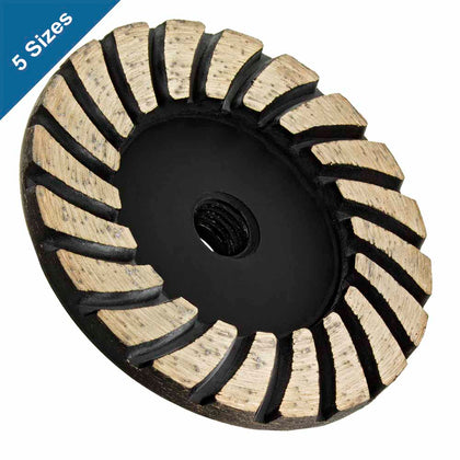 Turbo Diamond Grinding Wheels for Concrete and Stone