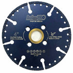 Aggressive Cutting! Vacuum Brazed Diamond Blades for All Purpose (6 Sizes)