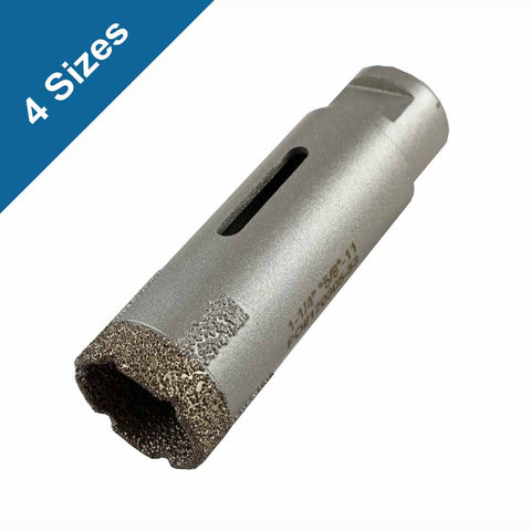 Archer PRO Dry Diamond Core Bits with Side Strips for Stone Drilling