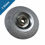 Archer PRO Vacuum Brazed Diamond Grinding Wheels for Concrete and Stone