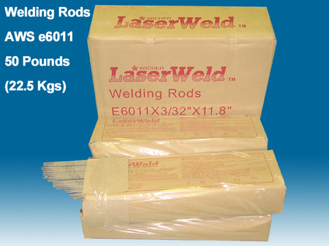 "Welding Rods e6011 1/8"", 50 lb box. Welding Electrodes"