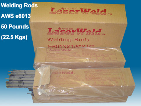 "Welding Rods e6013 1/8"", 50 lb box. Welding Electrodes"