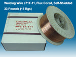 "Welding Wire E71T-11 0.035"" (0.9 mm), 33 lb Spool"