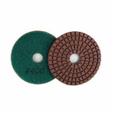 Wet Diamond Polish Pads 3 in. for Marble and Granite Polishing (8 Grits)