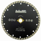 Wide Turbo Diamond Blades for Masonry Cutting (8 Sizes)